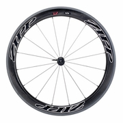 Zipp 404 Firecrest Tubular Front Bicycle Wheel - Beyond Black