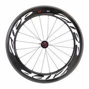 Zipp 808 Firecrest Carbon Clincher Rear Bicycle Wheel - Classic White