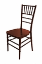 1000 lb. MAX Mahogany Resin Steel Core Chiavari Chair [RB-700K-RESIN-RM-CSP]