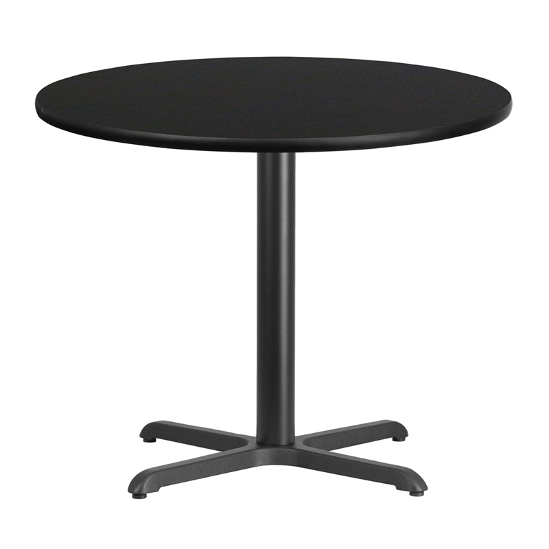 36 39 39 round black laminate table top with 30 39 39 x 30 39 39 table for 12 x 30 table
