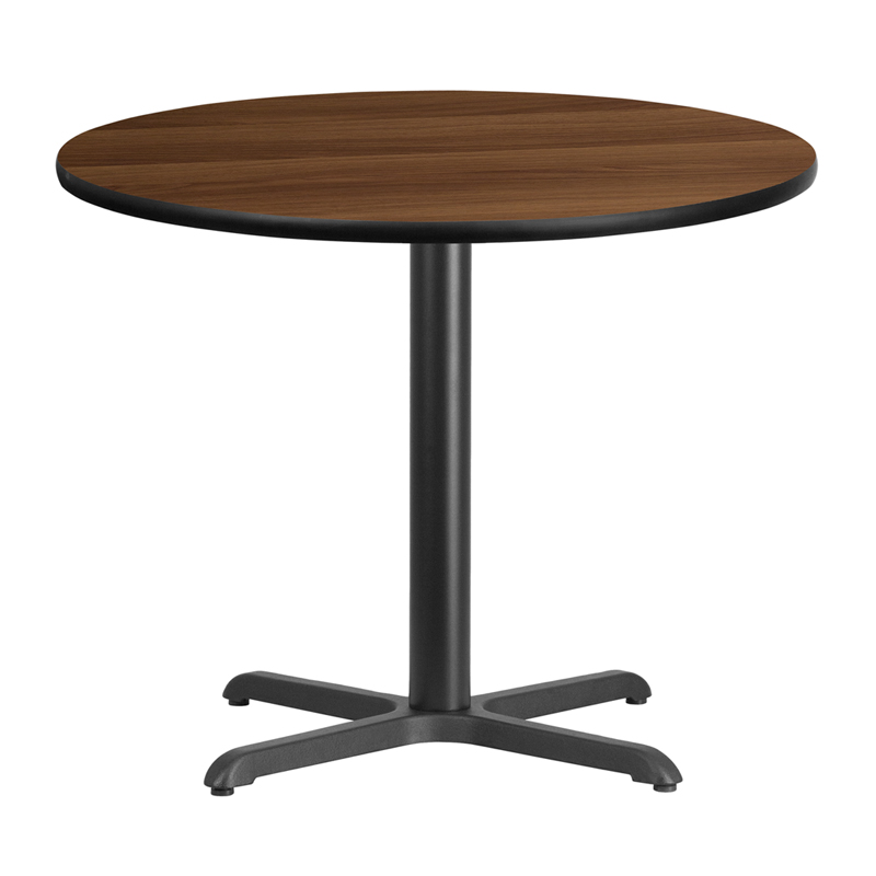 36 39 39 round walnut laminate table top with 30 39 39 x 30 for 12 x 30 table