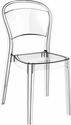 Bo Modern Polycarbonate Dining Chair - Transparent Clear [ISP005-TCL-FS-CMP]