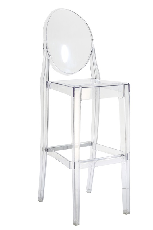 Clear Polycarbonate Armless Kage Barstool [RPC-KAGE-BAR-CL-CSP]  sc 1 st  BestChiavariChairs.com : ghost chair stool - islam-shia.org