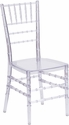 Flash Elegance Crystal Ice Stacking Chiavari Chair with Free Cushion [BH-ICE-CRYSTAL-GG]