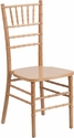HERCULES Series Natural Wood Chiavari Chair with Free Cushion [XS-NATURAL-GG]