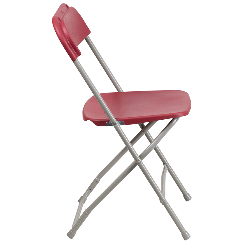 Folding Chairs Plastic hercules series 800 lb. capacity premium red plastic folding chair