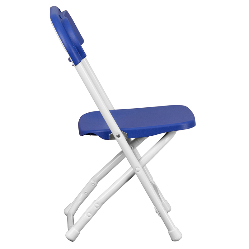 Child Size Folding Chairs kids blue plastic folding chair, y-kid-bl-gg