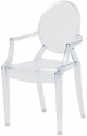 Kids Clear Polycarbonate Baby Ghost Chair with Arms [RPC-GHOST-BABY-ARMS-CSP]