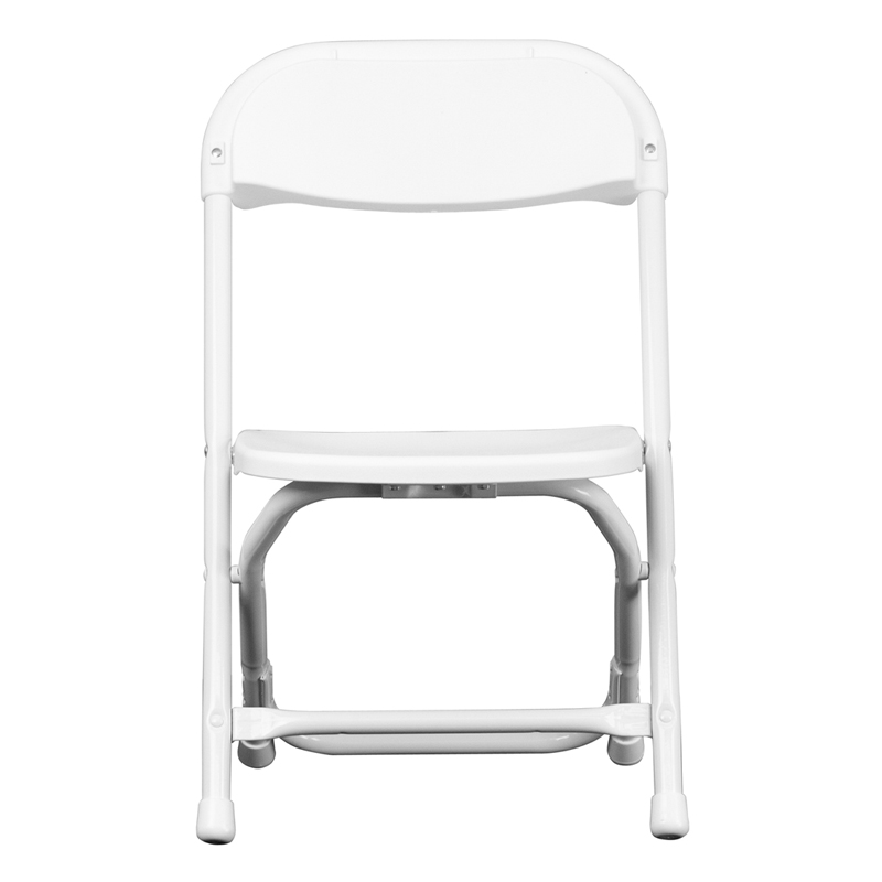 Kids White Plastic Folding Chair Y Kid Wh Gg