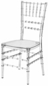 Mirage Clear Chiavari Polycarbonate Chair [RPC-MIRAGE-CL-CSP]