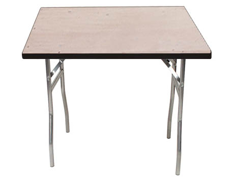 Standard Series 48 Square Folding Banquet Table With