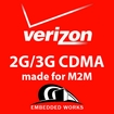 150MB per month 4G/3G  Verizon 6 months PrePaid Data Plan (USA ONLY)
