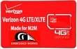 1GB per month Verizon 6 months PrePaid Data Plan (USA)