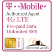 1GB per month monthly for 3 months SIM Data Plan--T-Mobile (North America)