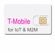 50MB per month prepaid for 3 months IoT Data Plan with SIM --T-mobile  (N. America)