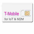 5MB per month prepaid for 6 months IoT Data Plan with SIM --T-mobile  (USA ONLY)