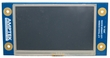 Amptek 4.3� LCD Module w/ Resistive Touch for the iCon Platform