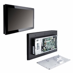 "Axiomtek  GOT-3157W-832-PCT  Touch Panel PC  15.6"" WXGA Hi-Res Capacitive Multi-Touch TFF LCD  Intel Atom D2550 1.86GHz Intel NM10"