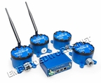 B+B SmartWorx WSKIT4BE Basic Wzzard Dev kit - SpectreRT - 4 sensor nodes - Lithium Battery (AA) / Grade: Industrial