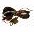 Calamp Power Harness, LMU-4200/5000, 4-pin, 4-Wire, with Fuse, 8 ft pn 5C888