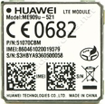 Huawei ME909U-521 4G LTE CAT 3 w/ 3G Fallback Module: LGA Surface Mount with GPS LTE Europe Certified