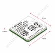 Huawei MC509 3G CDMA / EV-DO Module: LGA Surface Mount with GPS Verizon - USA Certified