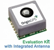 OriginGPS Micro Hornet ORG1410-PM01 EVK / Evaluation Kit - GPS Receiver Module with Integrated Antenna (MPN: ORG1410-PM01-UAR)