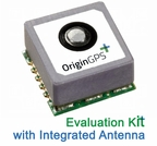 OriginGPS Multi Micro Hornet ORG1510-R01 EVK / Evaluation Kit - GPS-GNSS Receiver Module with Integrated Antenna (MPN: ORG1510-R01-UAR)