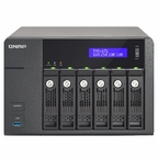 QNAP TVS-671-i3-4G-US 6-Bay Intel Core i3 3.5GHz Dual Core, 4GB RAM, 4LAN, 10G-ready (TVS-671-i3-4G-US)