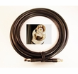 SMA male with 20 feet of CLF400 (low-loss) cable +SMA-male connector