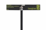 Taoglas FXP832 Freedom Wi-Fi 2.4GHz and 4.9-6GHz Dipole Antenna