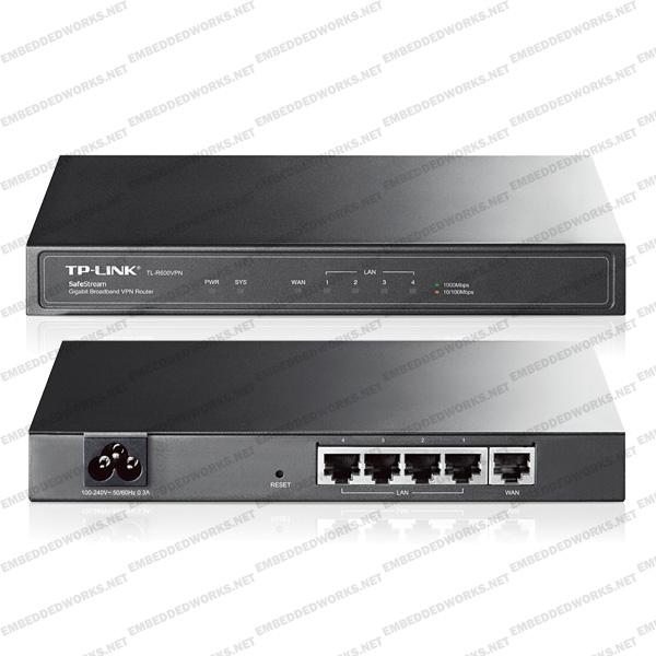 TP-Link / TL-R600VPN / SafeStream Gigabit Broadband VPN