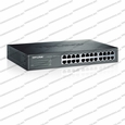 TP-Link / TL-SG1024D / 24-port Gigabit Desktop/Rackmount Switch, 24 10/100/1000M RJ45 ports, metal case