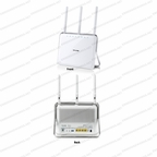 TP-Link Archer D9 / 802.11ac/n/a @ 5GHz, 802.11b/g/n @ 2.4GHz / AC1900 Wireless Dual Band Gigabit ADSL2+ Modem Router with Beamforming Technology
