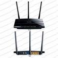 TP-Link TL-WDR4300 / 802.11a/n @ 5GHz, 802.11b/g/n @ 2.4GHz / N750 Wireless Dual Band Gigabit Router