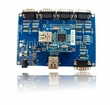 WIZ145SR Serial to Ethernet Evaluation Board w/ 4 x TTL + RJ-45