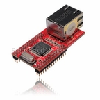 WIZ810MJ Ethernet-SPI/Bus Module (RJ45) with 2mm Pitch