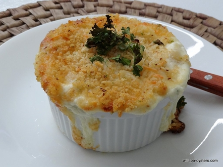 </font>Dungeness Crab Mac and Cheese - 1 lb - <font color=red> 4 Ramekins - <br> Free Standard Shipping</font>
