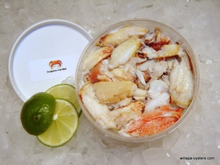 Fresh Dungeness Crab Meat 1lb