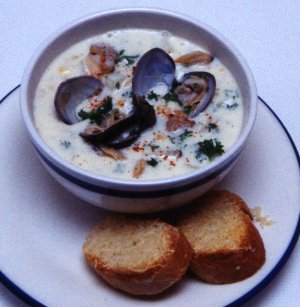 Helen Jennison´s Clam Chowder - Prep. Time 30 Minutes  + Cook Time 60 Minutes