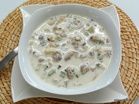 Manila and Razor Clam Chowder - <font color=red>3 Quarts - <br>Free Standard Shipping</font>