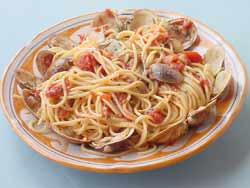 Spaghetti with Clam Sauce - Prep. Time 45 Minutes