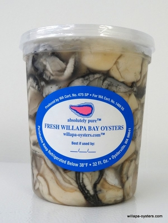 Willapa Shucked Small