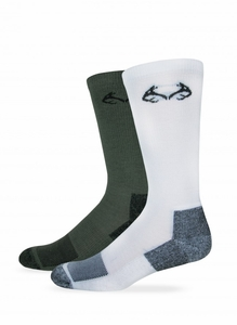 00830 RealTree Insect Shield Crew Sock