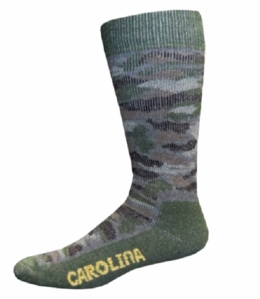 09063 Carolina Ultimate Camo Merino Wool Blend Crew