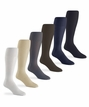 1037 Mens Sheer Nylon Over the Calf Dress Sock