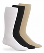 1041 Mens King Size Nylon Rib Crew Dress Sock