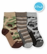 1168 Camouflage Stripe Crew 3 Pair Pack