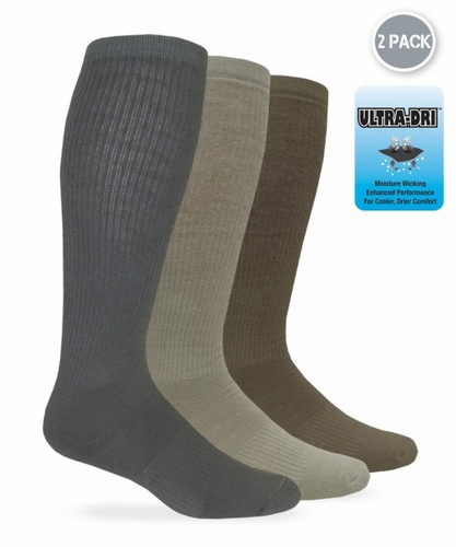 1201 Dry Comfort Boot Sock 2 Pair Pack