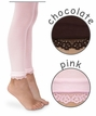 1474 Daisy Trim Footless Tights